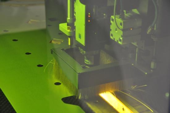 Combination sheet metal punching machines