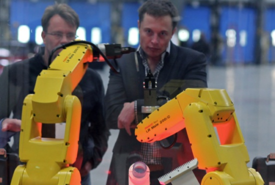 The era for industrial robots